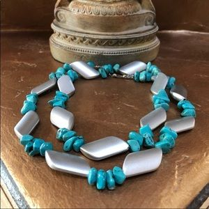 💙Sale💙 Beautiful Blue Bold Turquoise Necklace